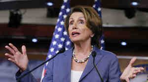 House Minority Leader Nancy Pelosi, D-Calif., isn't letting the flawed rollout of the Affordable Care Act website dampen her enthusiasm for the law.