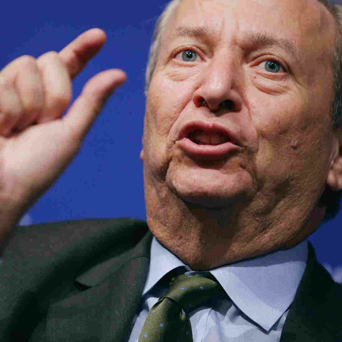 Clinton-era Treasury secretary and former Obama economic adviser Lawrence Summers last week in Washington, D.C.