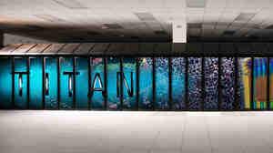 Budget cutbacks threaten a planned upgrade of the massive Titan supercomputer, seen here, at Oak Ridge National Laboratory.