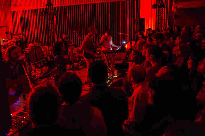 Arcade Fire's concert at Capitol Studios was an exclusive performance for public radio fans, heard on stations across the U.S. and in Canada on the CBC.