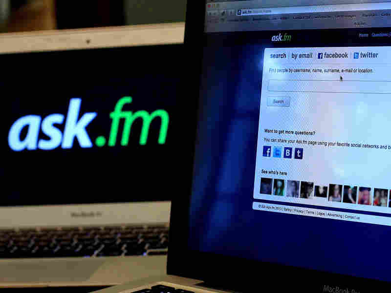 The Ask.fm website has been linked to two bullying cases that led to suicides.