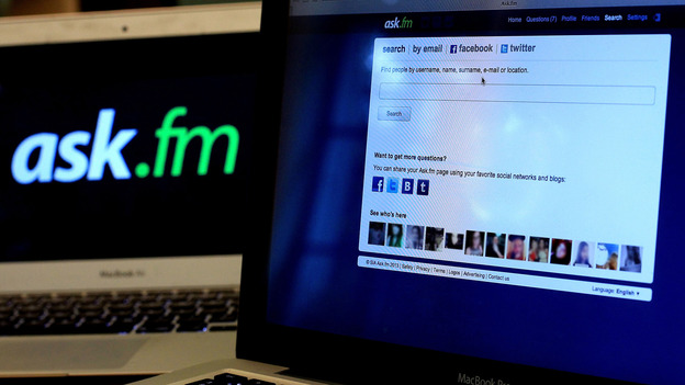 The Ask.fm website has been linked to two bullying cases that led to suicides. (Getty Images)