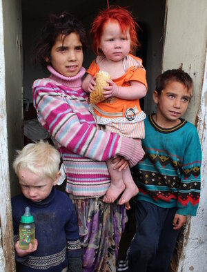 The children of the Ruseva family — at the heart of a story about a Roma child suspected of being kidnapped because she had blond hair and blue eyes — might not read to many as relatives. But they are.