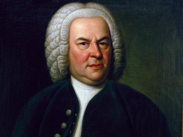 This rare portrait of Bach, by Elias Gottlob Haussmann, hung in John Eliot Gardiner's home during World War II.