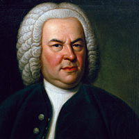 This rare portrait of Bach, by Elias Gottlob Haussmann, hung in John Eliot Gardiner's home during World War II.