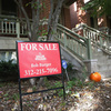 "A ""For Sale"" sign outside a home in the Wicker Park neighborhood of Chicago on Monday."