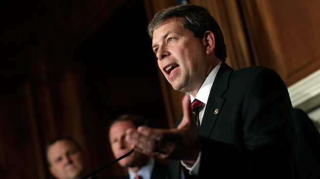 Sen. Mark Begich of Alaska is one of five Democrats in the Senate calling for a delay in the enrollment deadline for the Affordable Care Act. He says consumers shouldn't be punished for the technical problems that have plagued the health law's website.