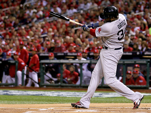 Big Papi is red hot: Boston's David Ortiz has driven the Red Sox to a 3-2 lead over the St. Louis Cardinals in the World Series.