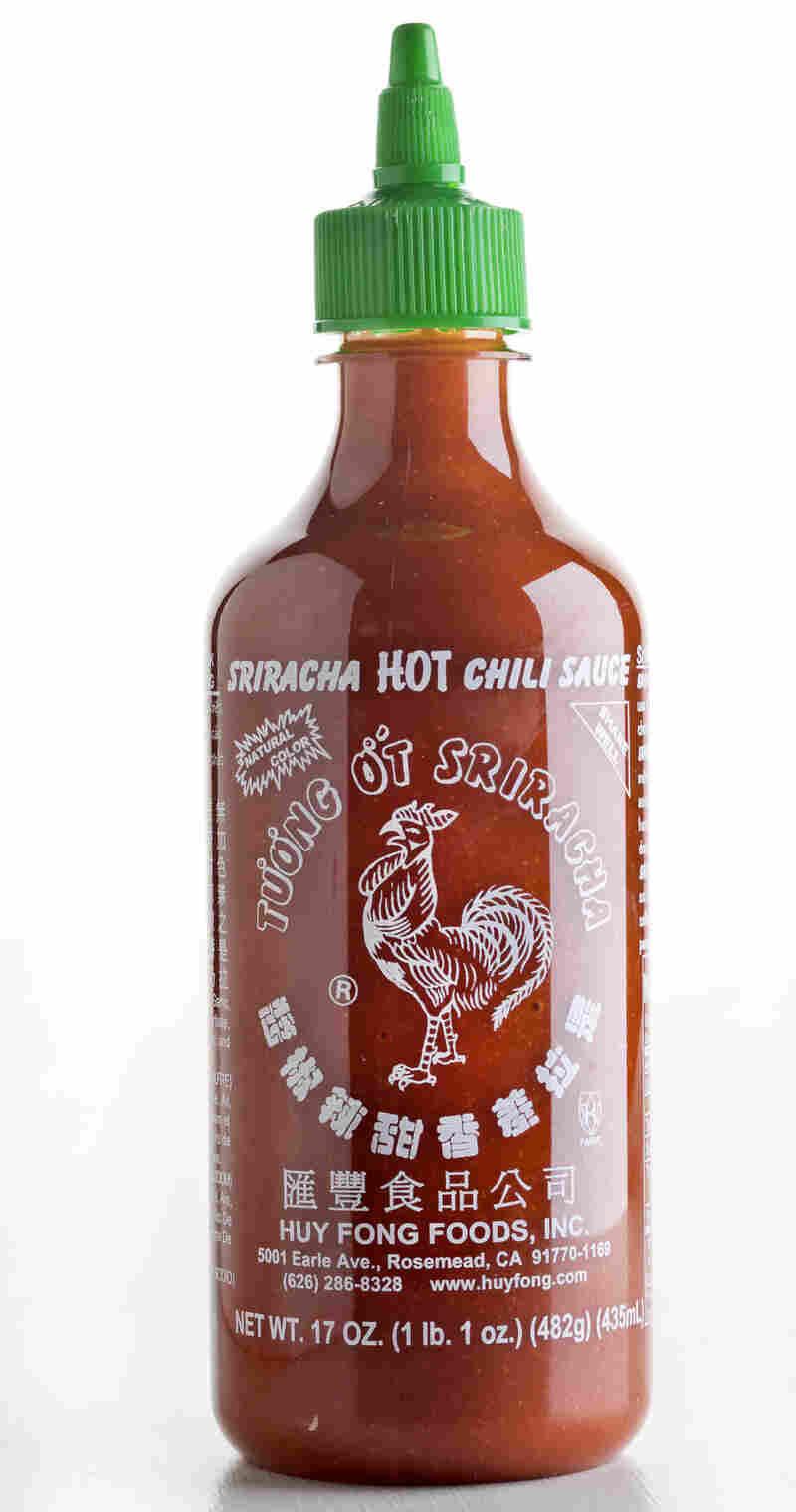 Sriracha sauce.