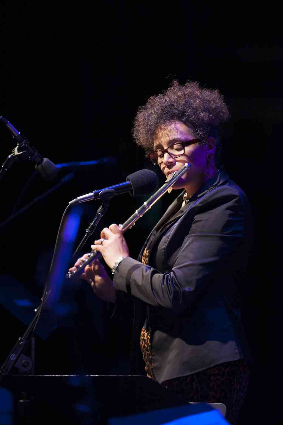 Nicole Mitchell plays the Mary Lou Williams Women in Jazz Festival.