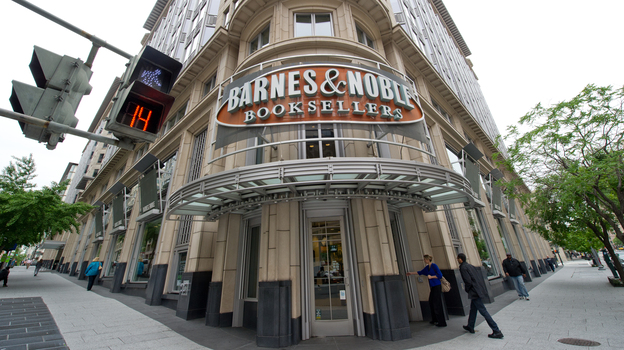 Barnes & Noble is one of several stores that have refused to carry Amazon Publishing's books. (AFP/Getty Images)