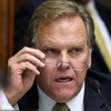 Rep. Mike Rogers, R-Mich., asks about website security questions Wednesday at a House Energy and Commerce Committee hearing on problems with HealthCare.gov.