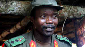 Joseph Kony, the Ugandan leader of the Lord's Resistance Arm