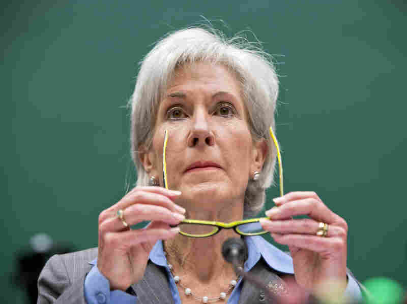 """""""I apologize,"""" Health and Human Services Secretary Kathleen Sebelius said Wednesday at a congressional hearing on problems with HealthCare.gov."""