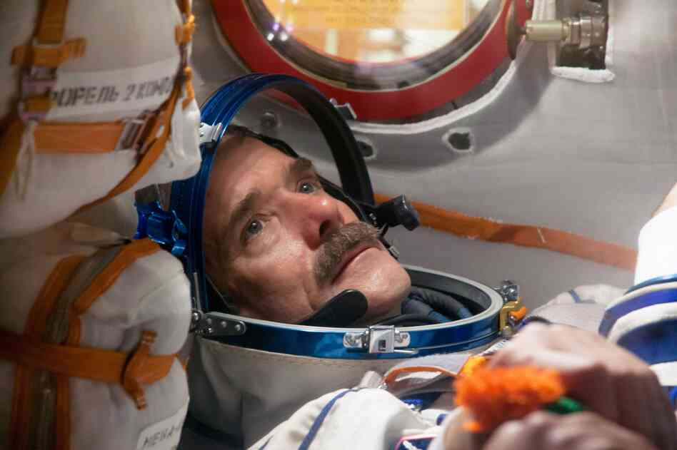 "Canadian astronaut Chris Hadfield has spent a total of six months in space. In his new book, he writes that getting to space took only ""8 minutes and 42 seconds. Give or take a few thousand days of training."""