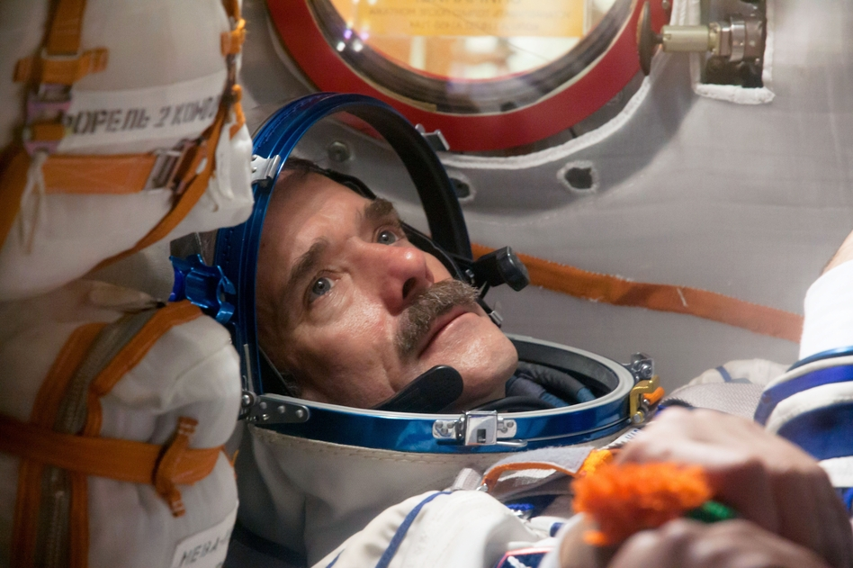 0667dacd83f2f Canadian astronaut Chris Hadfield has spent a total of six months in space.  In his