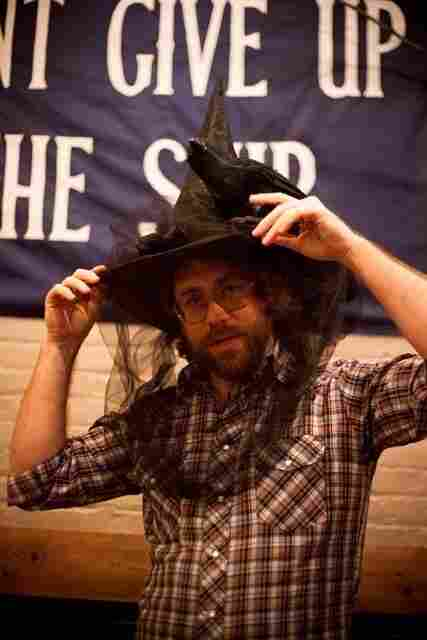 Always bewitching Ask Me Another House Musician Jonathan Coulton.