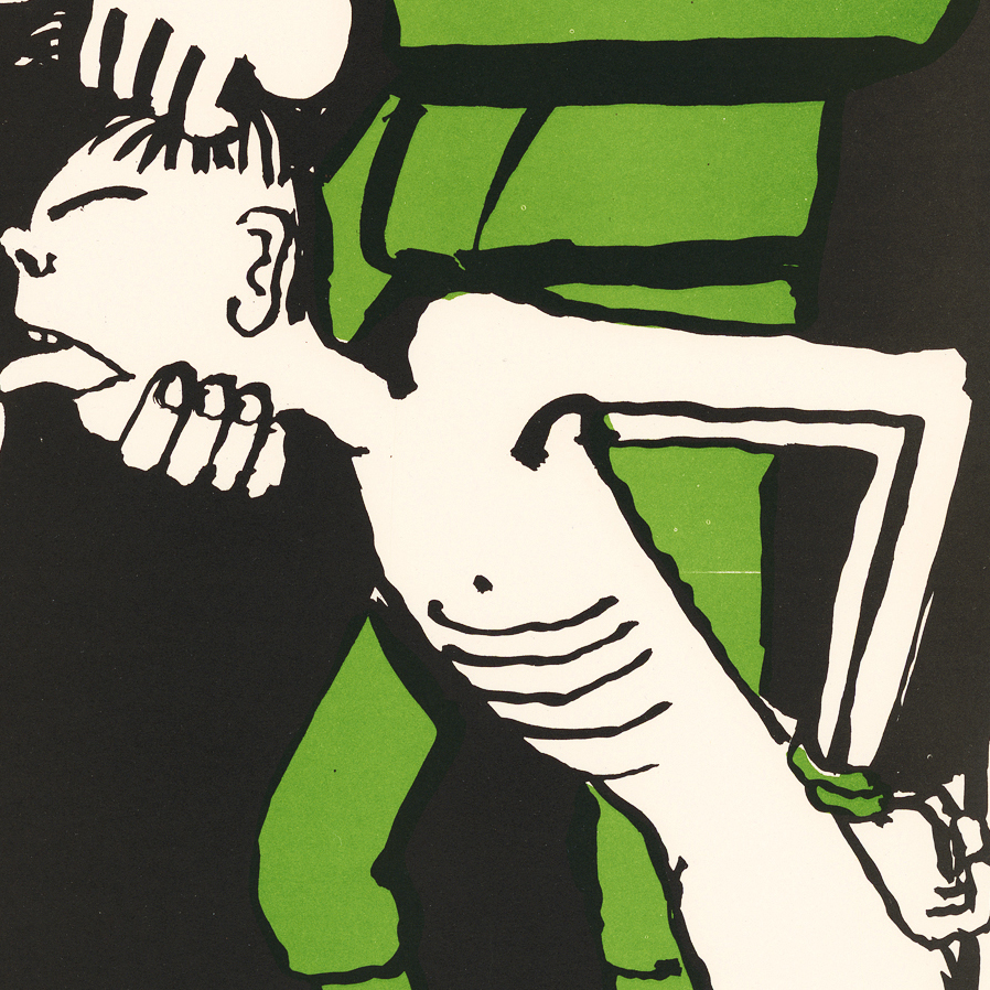 Tomi Ungerer created this graphic anti-Vietnam War poster.