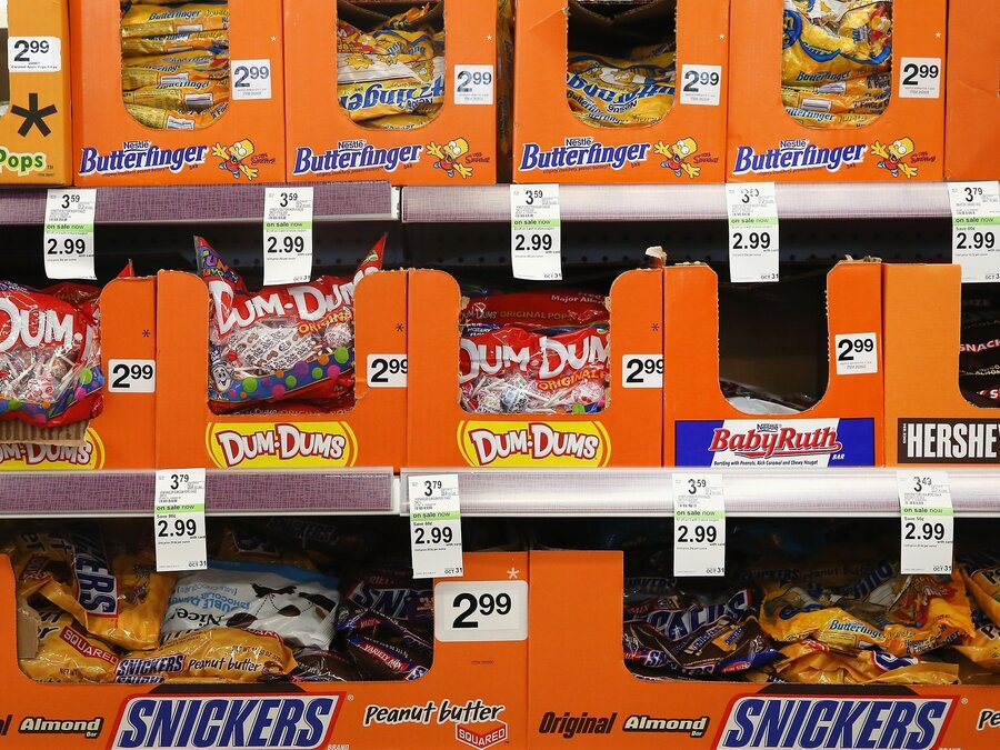 candy sales are flat the industry blames the weather - Halloween Sales