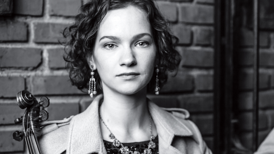 In 27 Pieces: The Hilary Hahn Encores comes out Nov. 11. (Courtesy of the artist)