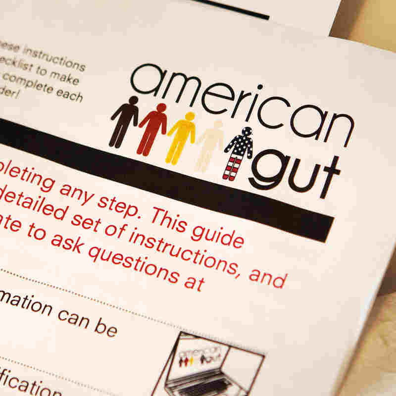 Participants in the American Gut Project are asked to keep track of everything they eat for a week.