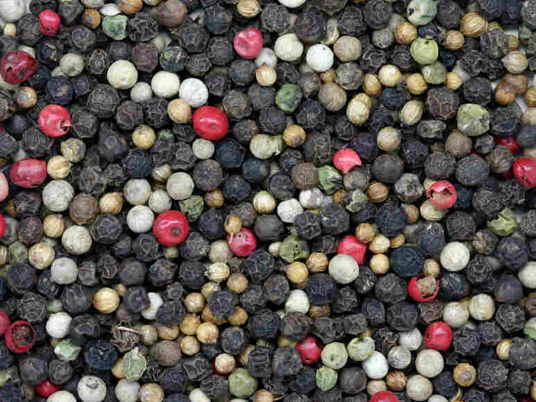 Pepper is the spice most commonly contaminated with salmonella and other pathogens.
