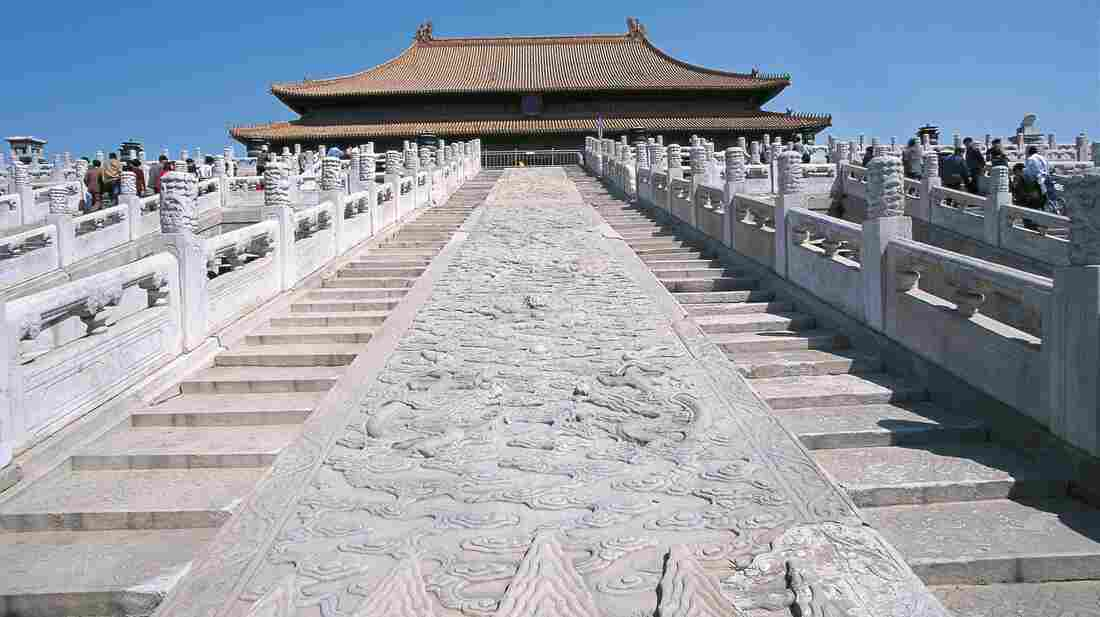 The Large Stone Carving is the heaviest stone in the Forbidden City in Beijing. It was believed to have weighed more than 300 tons when it was first transported to the site between 1407 and 1420.