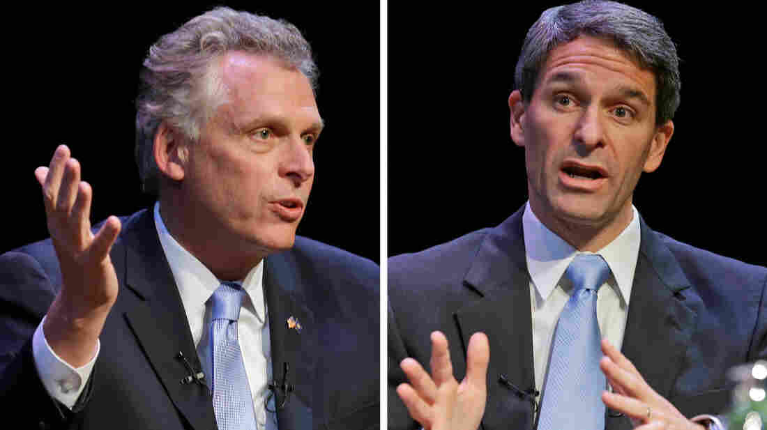 Virginia gubernatorial candidates Democrat Terr
