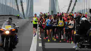 Kenyans Mutai, Jeptoo Win New York City Marathon