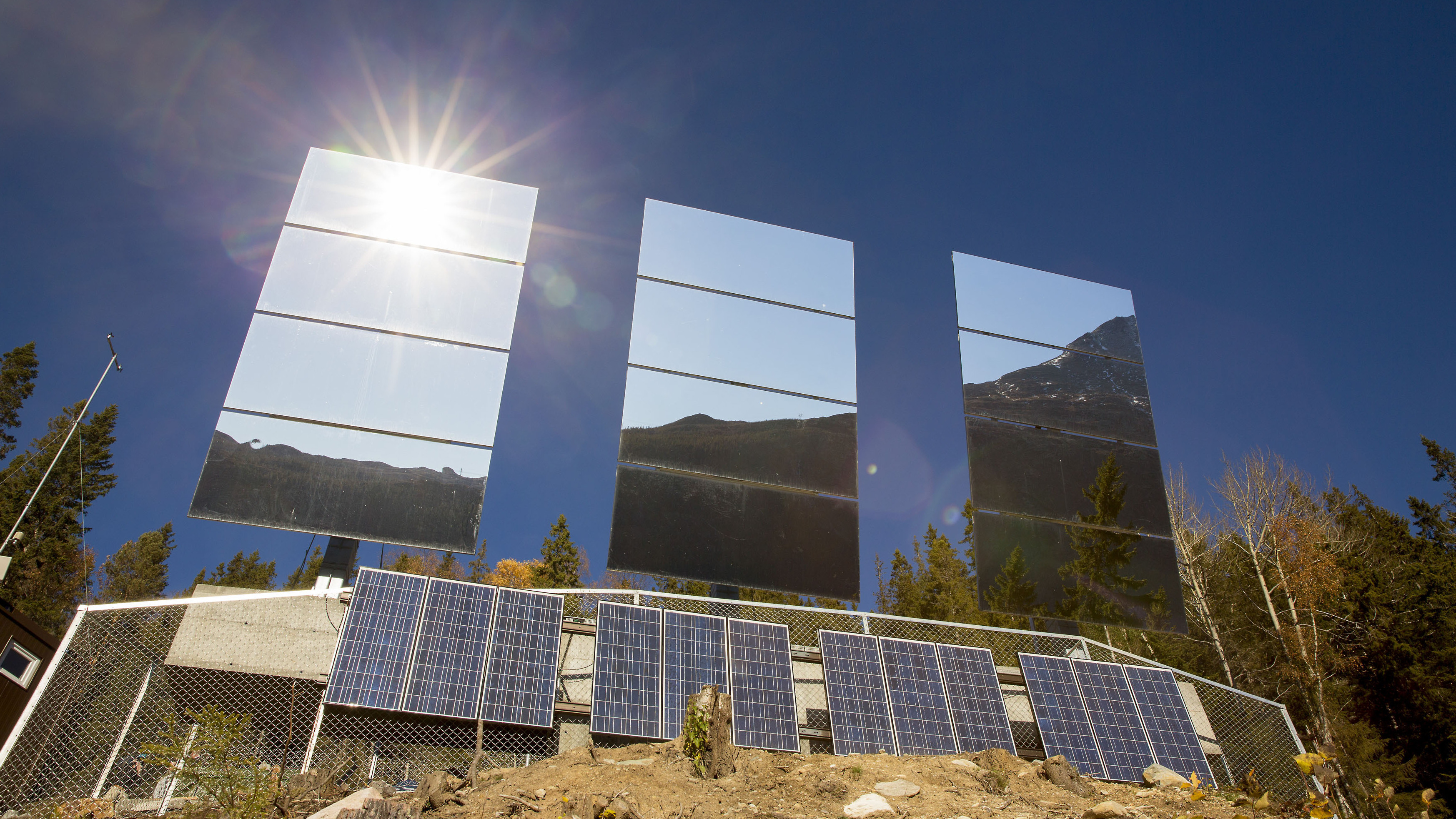 As Mirrors Beam Light To Town, Norwegians Share Patch Of Sun
