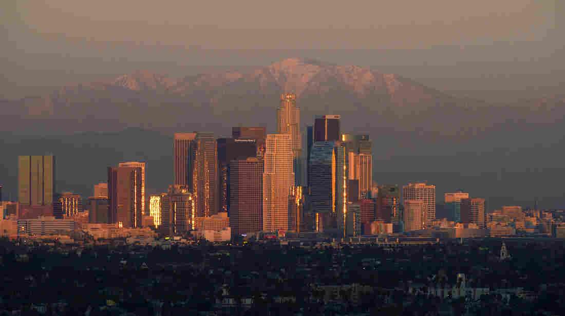Los Angeles saw a dramatic boom in