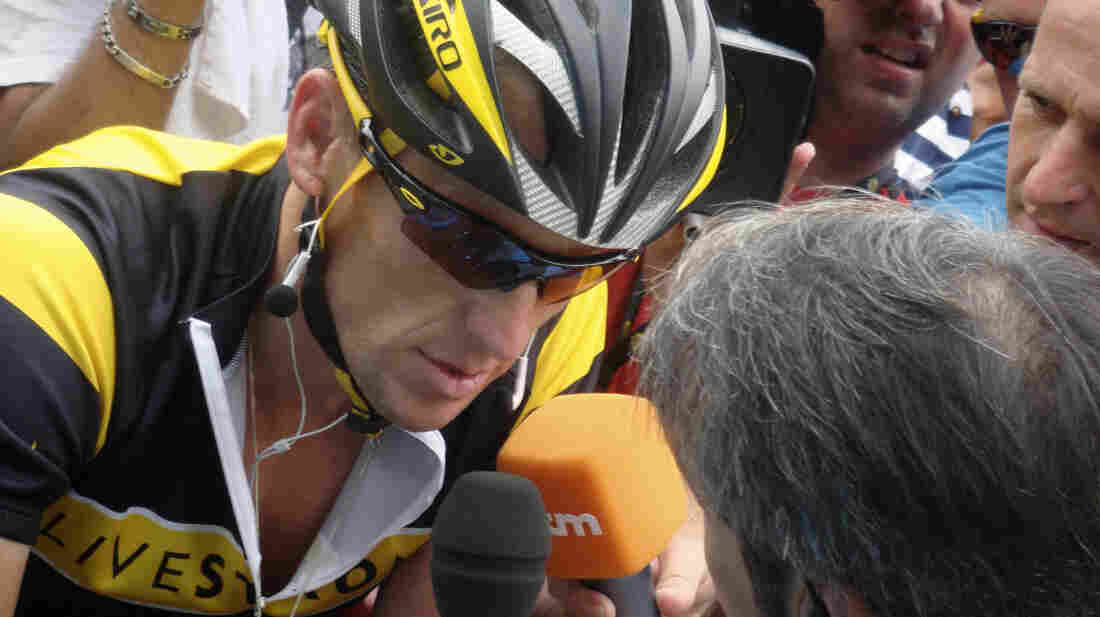 Alex Gibney's documentary started as a flattering profile of competitive cyclist Lance Armstrong, but all that changed after Armstrong admitted to years of doping — and lying to everyone about it.