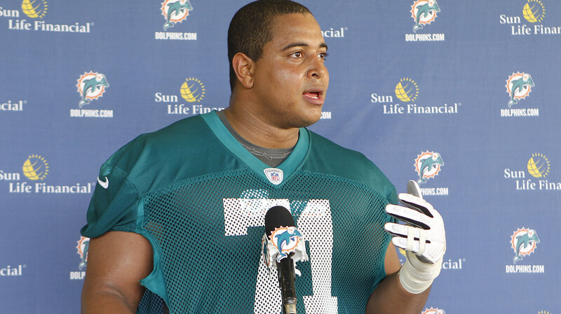 sports shoes 6461f 33391 Miami Dolphins Suspend Richie Incognito Over Slurs, Threats ...