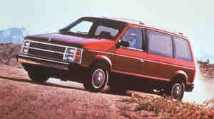 It was radical in its day: Chrysler's minivans first rolled off assembly lines in November 1983. This is one of those original model year 1984 editions.