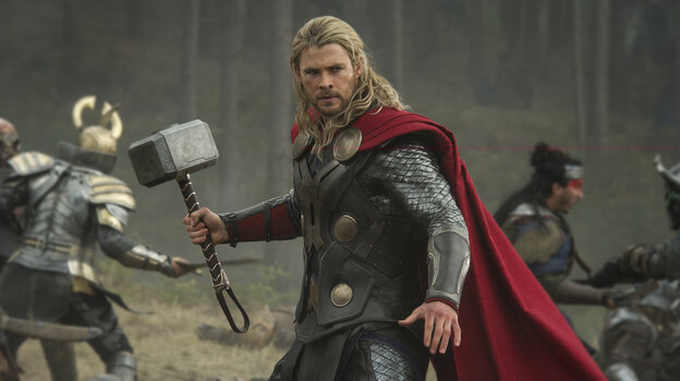 Thor (Chris Hemsworth) and his hammer are back for a supernatural sequel, battling the forces of evil again — this time without his fellow Avengers.