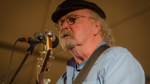 Tom Paxton performing live on Mountain Stage.