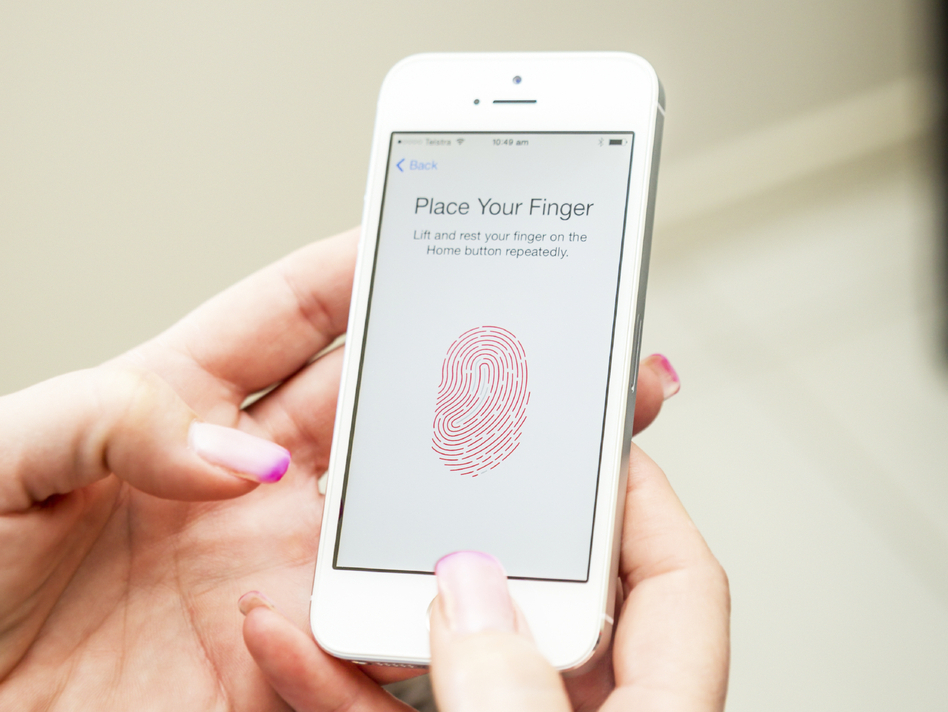 The iPhone 5s includes a fingerprint scanner that can be used in lieu of a PIN or password. Some tech giants say finger or voice recognition is the wave of the future.