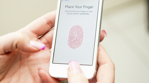 The iPhone 5s includes a fingerprint scanner that can be used in lieu of a PIN or password. Some tech giants say finger or voice recognition is the wave of the future. (iStockphoto.com)