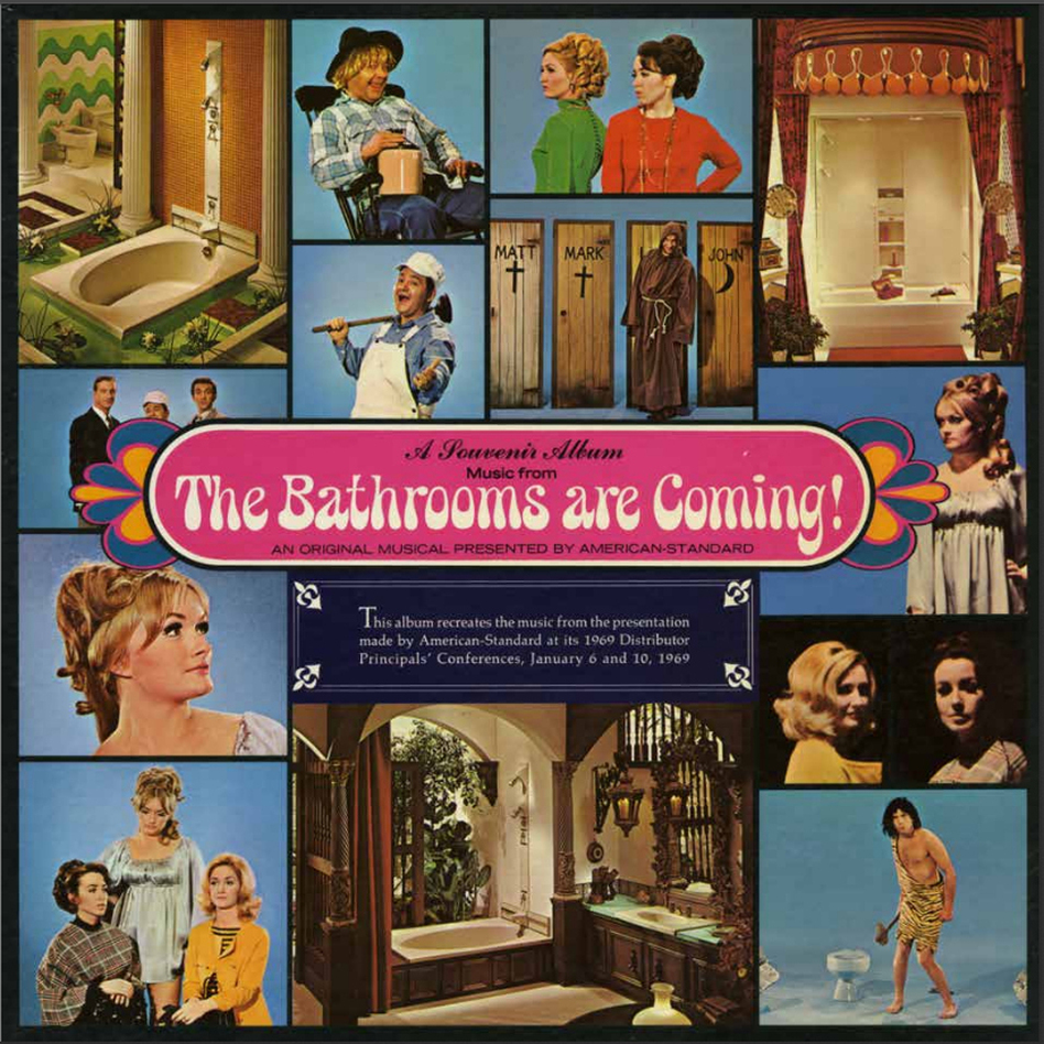 "Steve Young learned about industrial musicals when he started coming across compilations, like this one, in used record stores. (You definitely want to <a href=""http://media.npr.org/assets/img/2013/11/05/bathroomscover_custom.jpg"">click to enlarge this</a>.)"