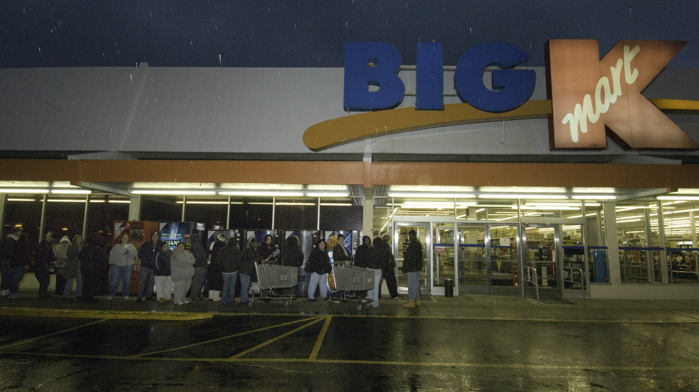 41 Hours Of Retail: Kmart\'s Black Friday Plan Is Criticized : The ...