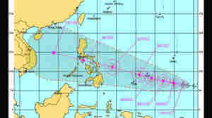 Developing Super-Typhoon Aims For The Philippines