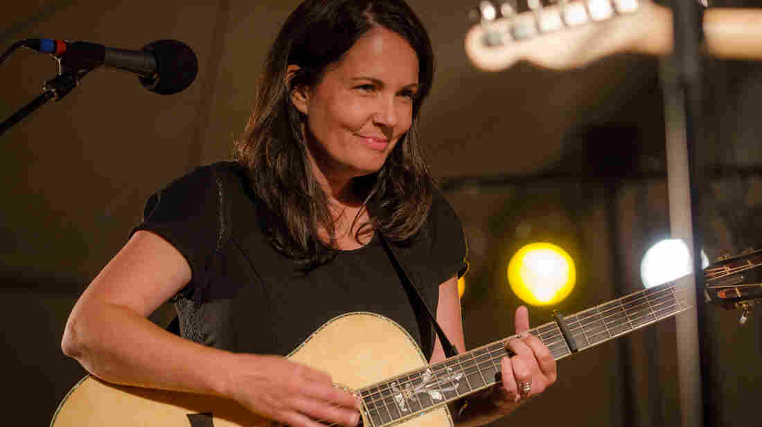 Lori McKenna performs live on Mountain Stage.