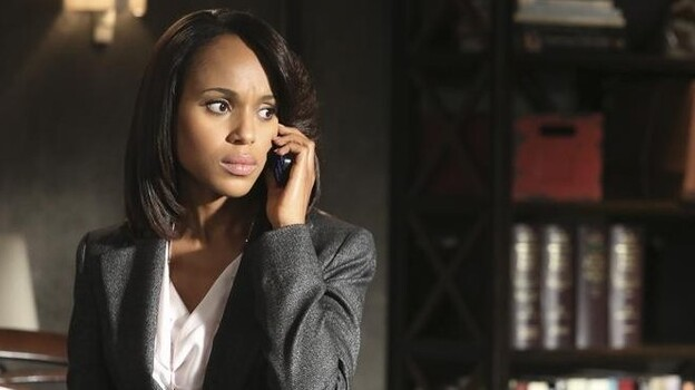 Kerry Washington plays Olivia Pope on Shonda Rhimes' political drama Scandal, one of TV's most talked-about broadcast shows. (ABC)