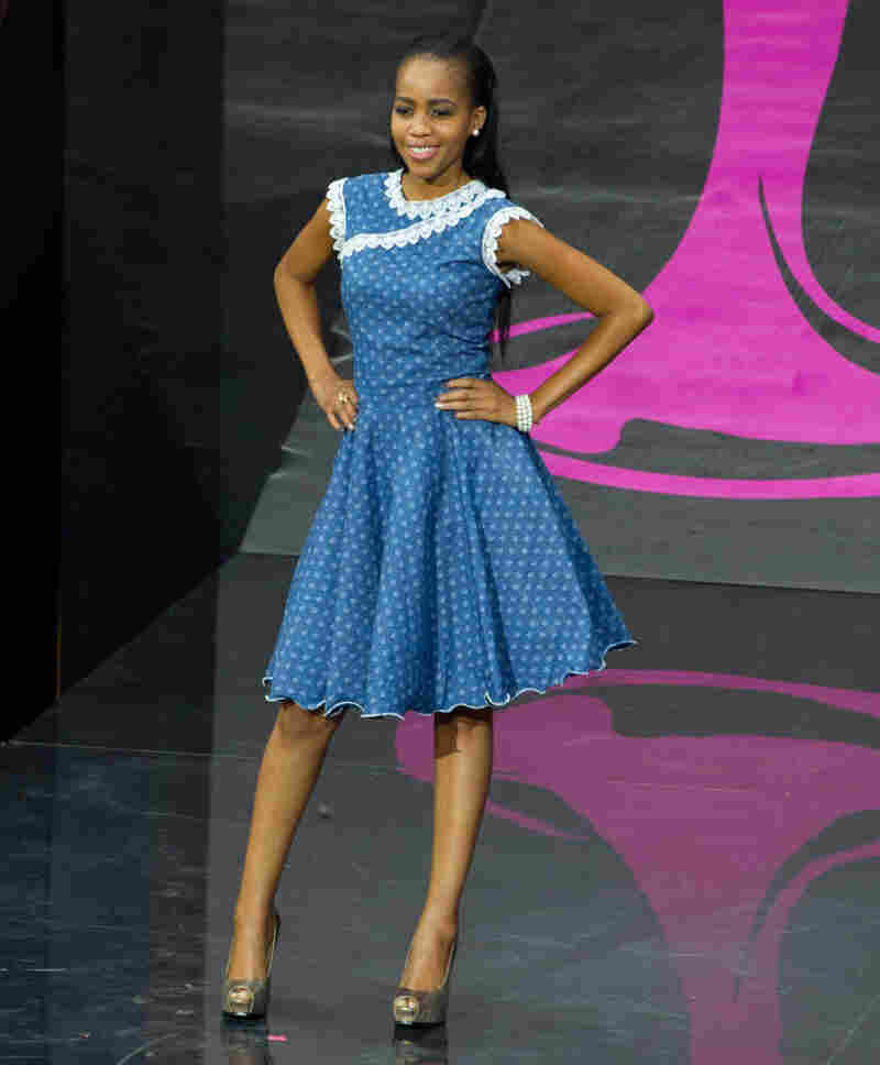 """Decent self still in possession of humanity: """"Tsaone Macheng, Miss Botswana, is completely adorable and appropriate and actually doesn't look like a nut."""" Mean self that has seen too many costume photos: """"Casual Corner is a country?"""""""