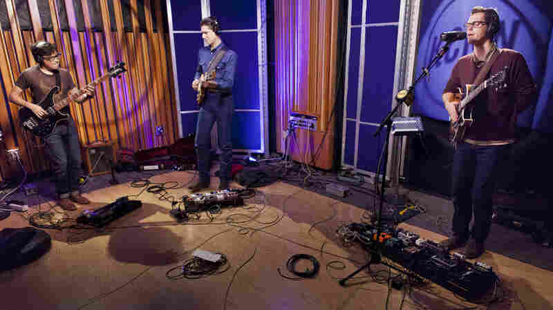 White Denim performed live on KCRW's Morning Becomes Eclectic.