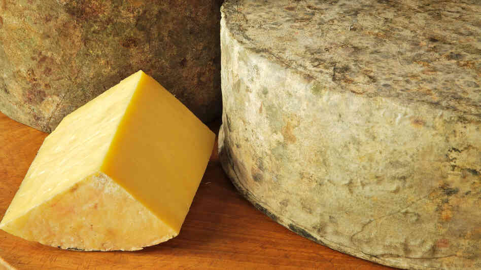 Shelburne Farms' clothbound cheddar has a