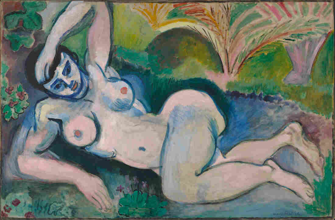 """Henri Matisse angered viewers with his """"distorted"""" Blue Nude, a 1907 oil on canvas."""