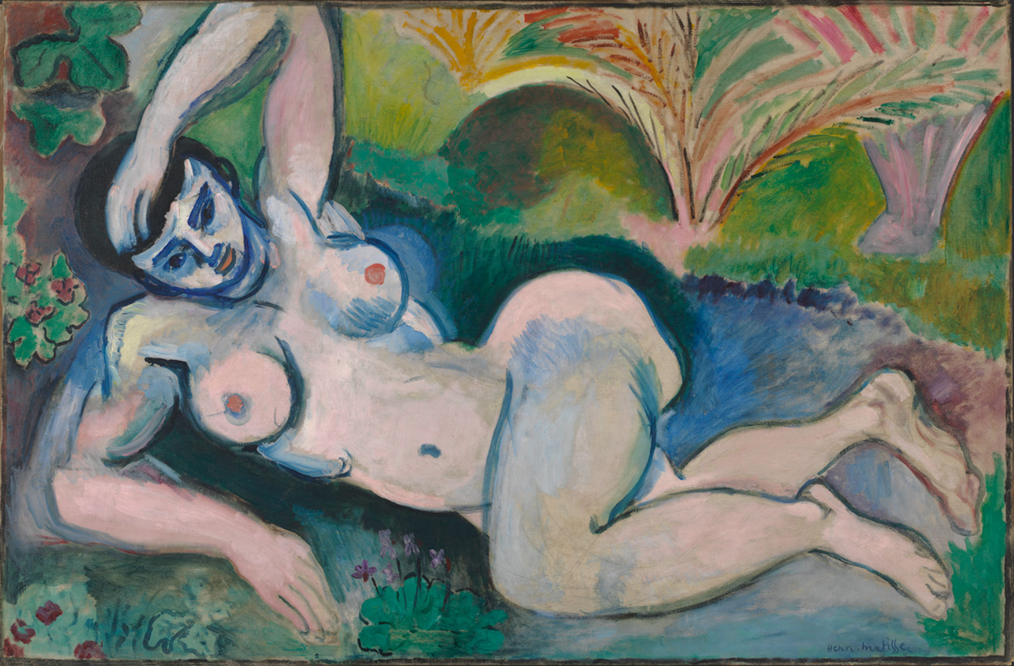 "Henri Matisse angered viewers with his ""distorted"" Blue Nude, a 1907 oil on canvas."