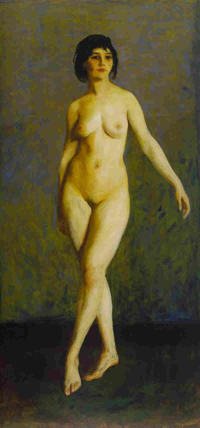 Robert Henri's 1913 Figure in Motion was a realistic, but bold response to Matisse's and Duchamp's nudes.