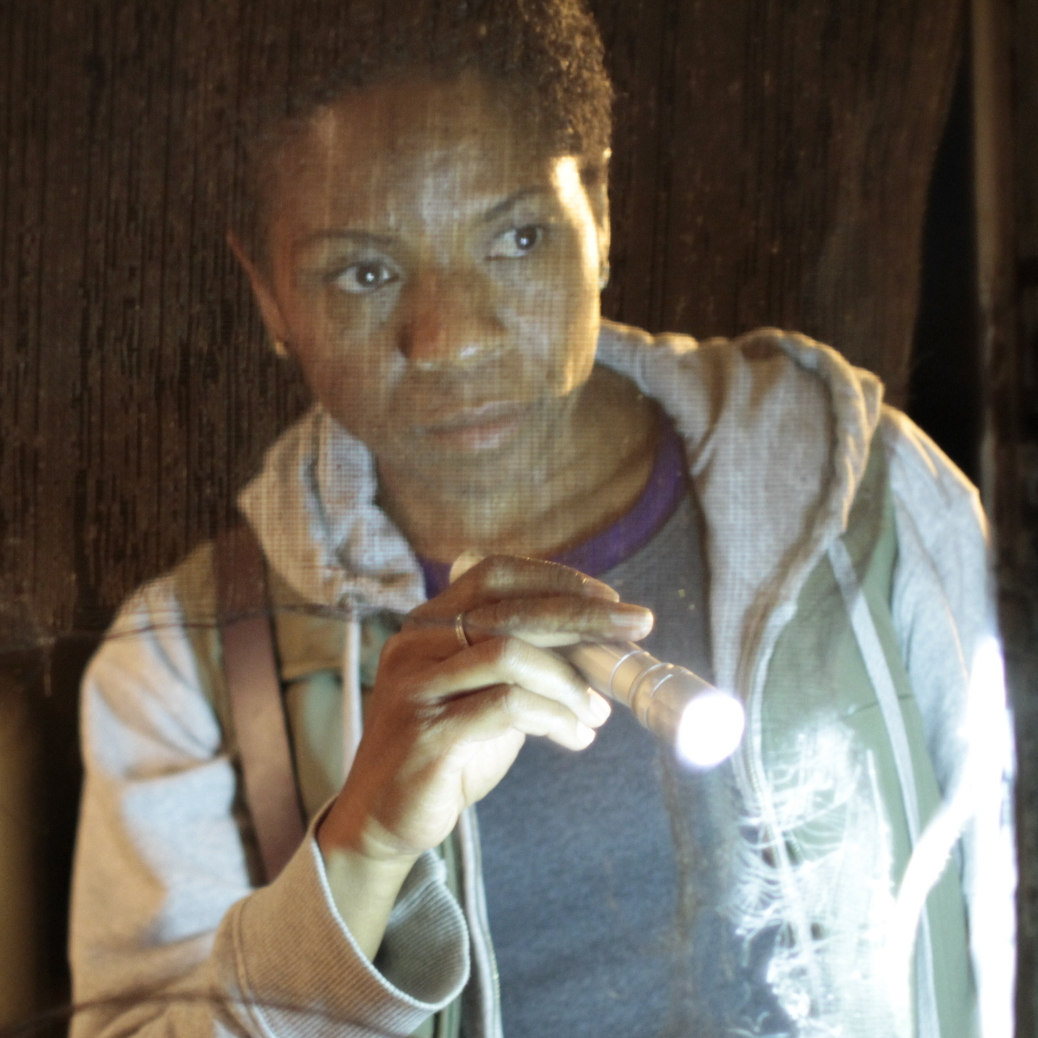 The relationship between Bernice (LisaGay Hamilton, above) and her parolee and former friend, Fontayne (Yolonda Ross), is overshadowed by the movie's criminal storyline.